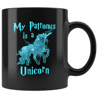 My Patronus Is A Unicorn Mug - 2018 Wizard Magic Lovers Cute Animal Coffee Cup - Luxurious Inspirations