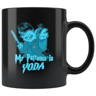 My Patronus Is Yoda Mug - Funny Parody Coffee Cup - Luxurious Inspirations