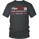 Oprah 2020 For President Shirt - Hoperah Hope Time's Up Election Anti-Trump Tee T-shirt teelaunch District Unisex Shirt Charcoal S