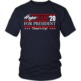Oprah 2020 For President Shirt - Hoperah Hope Time's Up Election Anti-Trump Tee T-shirt teelaunch District Unisex Shirt Navy S