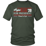 Oprah 2020 For President Shirt - Hoperah Hope Time's Up Election Anti-Trump Tee T-shirt teelaunch District Unisex Shirt Olive S