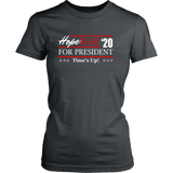 Oprah 2020 For President Shirt - Hoperah Hope Time's Up Election Anti-Trump Womens Tee T-shirt teelaunch District Womens Shirt Charcoal XS