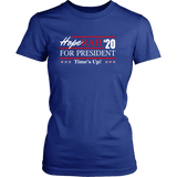 Oprah 2020 For President Shirt - Hoperah Hope Time's Up Election Anti-Trump Womens Tee T-shirt teelaunch District Womens Shirt Royal Blue XS