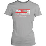 Oprah 2020 For President Shirt - Hoperah Hope Time's Up Election Anti-Trump Womens Tee T-shirt teelaunch District Womens Shirt Silver XS