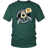 Philadelphia Underdogs - Eagles Fan Tee philly teelaunch District Unisex Shirt Dark Green S