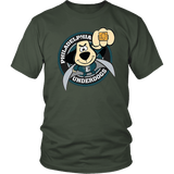 Philadelphia Underdogs - Eagles Fan Tee philly teelaunch District Unisex Shirt Olive S