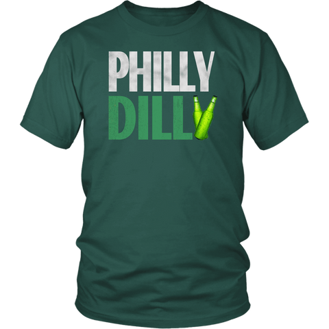 Philly Dilly Tee Shirt - Funny Football Philadelphia Philly! Football Fans Shirt - Luxurious Inspirations