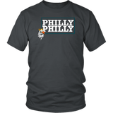 Philly Philly! Eagle Tee Shirt - Funny Football Philadelphia Dilly Champions Football Fans T-Shirt philly teelaunch District Unisex Shirt Charcoal S