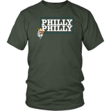 Philly Philly! Eagle Tee Shirt - Funny Football Philadelphia Dilly Champions Football Fans T-Shirt philly teelaunch District Unisex Shirt Olive S