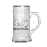 Philly Special Dilly Mug Beer Stein - Funny 4Th And Goal Fan Glass - Luxurious Inspirations