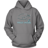 Philly Special Hoodie philly teelaunch Unisex Hoodie Grey S