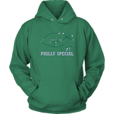 Philly Special Hoodie philly teelaunch Unisex Hoodie Kelly Green S