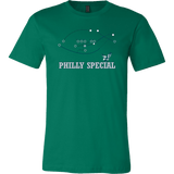 Philly Special Shirt USA / Canada philly teelaunch Canvas Mens Shirt Kelly Green S