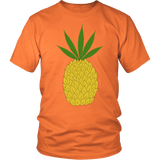 Pineapple Pot Shirt - Funny Marijuana 420 Tee - Luxurious Inspirations
