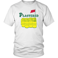 Plastered Funny Golf Parody Drinking T-Shirt - Luxurious Inspirations