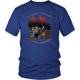 Play Chaotic Stupid Games DND T-Shirt T-shirt teelaunch District Unisex Shirt Royal Blue S