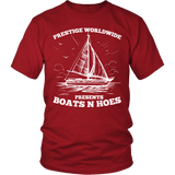 Prestige Worldwide Boats N Hoes Shirt - Funny Brothers Tee - Luxurious Inspirations