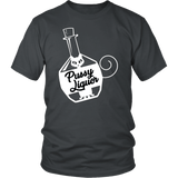 Pussy Liquor T-Shirt - Funny Offensive Rude Crude Adult Humor Gay Lesbian Double Meaning Tee Shirt - Luxurious Inspirations