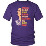 RBG Ruth Bader Ginsburg Women Belong In All Places Feminist Support Women T-Shirt - Luxurious Inspirations