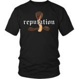 Reputation Shirt - Edition With A Cobra Snake T-Shirt T-shirt teelaunch District Unisex Shirt Black S