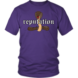 Reputation Shirt - Edition With A Cobra Snake T-Shirt T-shirt teelaunch District Unisex Shirt Purple S
