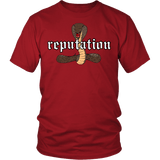 Reputation Shirt - Edition With A Cobra Snake T-Shirt T-shirt teelaunch District Unisex Shirt Red S
