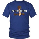 Reputation Shirt - Edition With A Cobra Snake T-Shirt T-shirt teelaunch District Unisex Shirt Royal Blue S