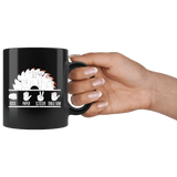 Rock Paper Scissors Table Saw Mug - Funny Carpenter Woodworking Danger Coffee Cup Drinkware teelaunch