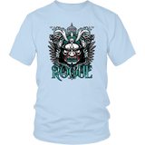 Rogue DND DM RPG D20 Crit Class Gaming T-Shirt T-shirt teelaunch District Unisex Shirt Ice Blue S