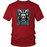 Rogue DND DM RPG D20 Crit Class Gaming T-Shirt T-shirt teelaunch District Unisex Shirt Red S