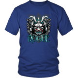 Rogue DND DM RPG D20 Crit Class Gaming T-Shirt T-shirt teelaunch District Unisex Shirt Royal Blue S