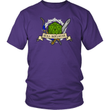 Roll Initiative Shirt T-shirt teelaunch District Unisex Shirt Purple S