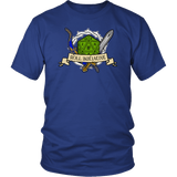 Roll Initiative Shirt T-shirt teelaunch District Unisex Shirt Royal Blue S