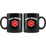 Roll Model Mug - Funny DND D20 Critical Hit RPG Roleplaying Dice Coffee Cup Drinkware teelaunch