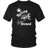 Rolling Stoned 420 Weed Pot T-Shirt - Luxurious Inspirations