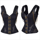 Sexy Steampunk Gothic Corset - Luxurious Inspirations