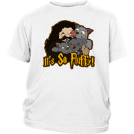 So Fluffy Hagrid 3 headed Dog Kids Youth  T-Shirt - Luxurious Inspirations