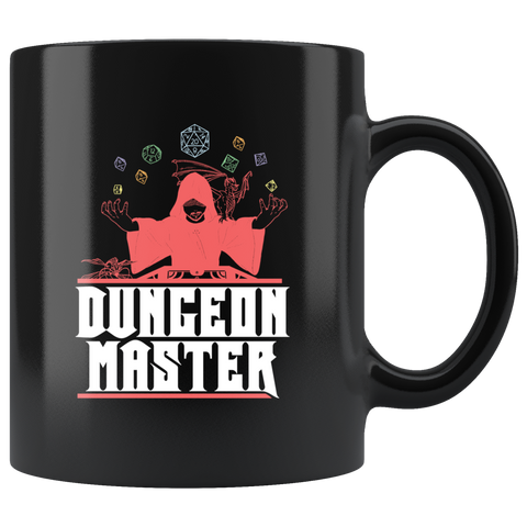 Dungeon Master DND game coffee cup mug