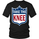 Take The Knee Shirt - Football Resistance Tee T-shirt teelaunch District Unisex Shirt Black S
