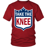 Take The Knee Shirt - Football Resistance Tee T-shirt teelaunch District Unisex Shirt Red S