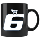 The Dynasty Continues Brady 6 Champtionship Ring Mug - GOAT New England Too Slow Coffee Cup - Luxurious Inspirations