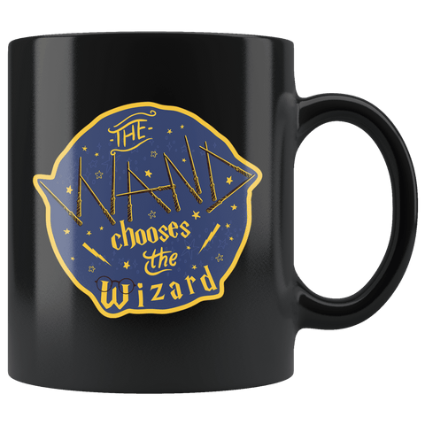 The Wand Chooses The Wizard Mug - Magic Potter Patronus Coffee Cup - Luxurious Inspirations