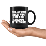 This Awesome Mug Gift Exchange - Funny Prank White Elephant Christmas Gag Joke Present Coffee Cup - Luxurious Inspirations