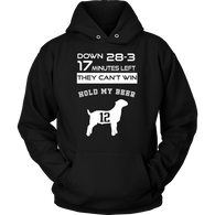 Tom Brady GOAT Hoodie - Greatest Of All Time From New England Patriots Patriots teelaunch Unisex Hoodie Black S