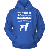 Tom Brady GOAT Hoodie - Greatest Of All Time From New England Patriots - Luxurious Inspirations