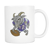 Tom Brady Goat Mug - Greatest Of All Time From New England Patriots Coffee Cup - Luxurious Inspirations