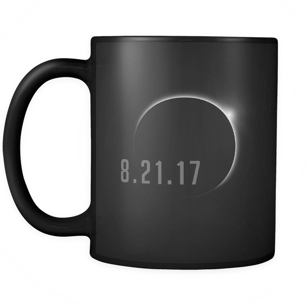 Total Solar Eclipse August 21 2017 Mug - USA Black Coffee Cup - Luxurious Inspirations