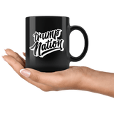 Trump Nation Mug - Donald Trump Support Vote For 2020 Make Liberals Cry Again Coffee Cup Drinkware teelaunch