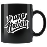 Trump Nation Mug - Donald Trump Support Vote For 2020 Make Liberals Cry Again Coffee Cup Drinkware teelaunch black