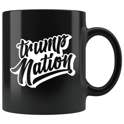 Trump Nation Mug - Donald Trump Support Vote For 2020 Make Liberals Cry Again Coffee Cup - Luxurious Inspirations